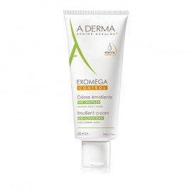 A-Derma Exomega Control Emollient Cream Μαλακτική Κρέμα, για δέρμα με τάση ατοπίας ή είναι πολύ ξηρό, 200ml