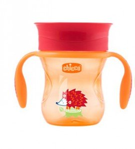 Chicco Perfect Cup Πορτοκαλί 12m+ 200ml, 1τμχ