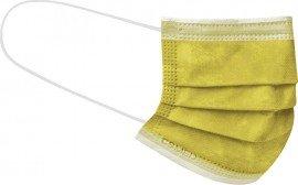 Siamidis CSMed Χειρουργική Μάσκα Τύπου ΙΙR ΕΛΟΤ EN 14683 (BFE:98%), 3 Στρωμάτων Προστασίας Κίτρινη, 1τμχ, Disposable Surgical 3-Layer Face Mask Type IIR Yellow