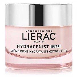 Lierac Hydragenist Nutri Moistrurizing Rich Cream, Πλούσια Κρέμα Ενυδάτωσης & Οξυγόνωσης, Ενυδάτωση & Αντιγήρανση 50ml