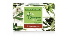 Macrovita Olivelia Φυσικό Σαπούνι Ελαιόλαδου - Cinnamon, 100gr