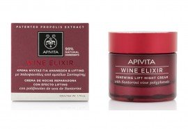 Apivita Wine Elixir Renewing Lift Night Cream Κρέμα Νύχτας για Ανανέωση & Lifting, 50ml