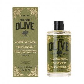 Korres Pure Greek Θρεπτικό Λάδι Ελιάς Olive Nourishing Oil 3 σε 1 100ml