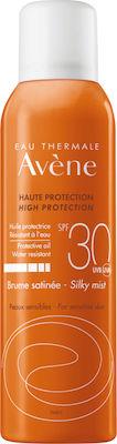 Avene Solaire Brume Satinee SPF30+, Αντηλιακό Mist για Πρόσωπο & Σώμα, 150ml