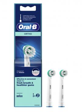 Oral-B Ανταλλακτικές Κεφαλές Ortho, 2τμχ