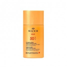 Nuxe Sun Light Fluid SPF50 Αντηλιακή Αντιγηραντική Κρέμα Προσώπου Κατά των Κηλίδων για Κανονικές / Μικτές Επιδερμίδες, High Protection, 50ml