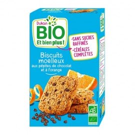 Dukan Bio Μπισκότα Βρώμης με Κομμάτια Σοκολάτας & Πορτοκάλι, 150gr