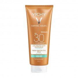 Vichy Capital Soleil Beach Protect SPF30 Fresh Hydrating Milk Face & Body 300ml