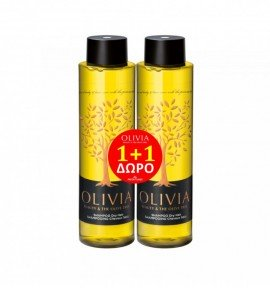 Olivia Hair Shampoo Dry Gift Set, Σαμπουάν για Ξηρά Μαλλιά 2x300ml, 1+1 ΔΩΡΟ