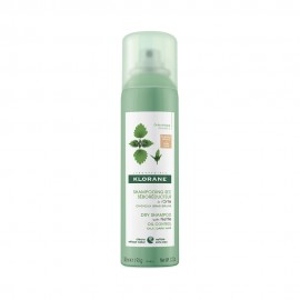 Klorane Shampooing Sec a L Ortie Dry Shampoo With Nettle Oil Control Ξηρό Σαμπουάν για Καστανά-Σκούρα Λιπαρά Μαλλιά 150ml