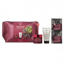 Apivita Promo Wine Elixir Ελαφριάς Υφής Κρέμα 50ml & Δώρο Cleansing Milk 3σε1 50ml & Δώρο Express Mask Anti-Wrinkle Grape 2x8ml