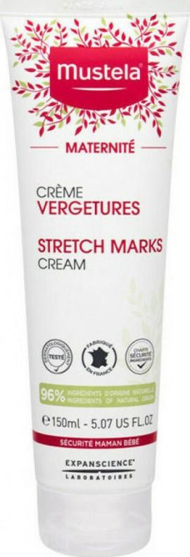 Mustela Maternite Stretch Marks Cream 3 In 1, Κρέμα Κρέμα Πρόληψης & Αντιμετώπισης Ραγάδων, κατάλληλη χρήση κατά την Διάρκεια της Εγκυμοσύνης & μετά τον Τοκετό, 150ml