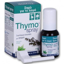 Tilman Thymo Spray, Σπρέι για το λαιμό χωρίς ζάχαρη & μέντα 24ml