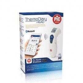 Pic Θερμόμετρο Ψηφιακό Μετώπου Solution Thermodiary Head με Bluetooth, 1τμχ