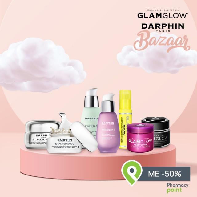 Darphin & GlamGlow Bazaar